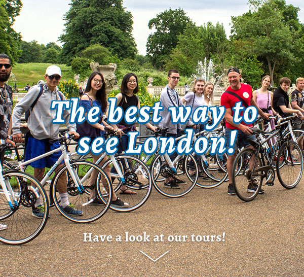 The best way to see London! Have a look at our bike tours