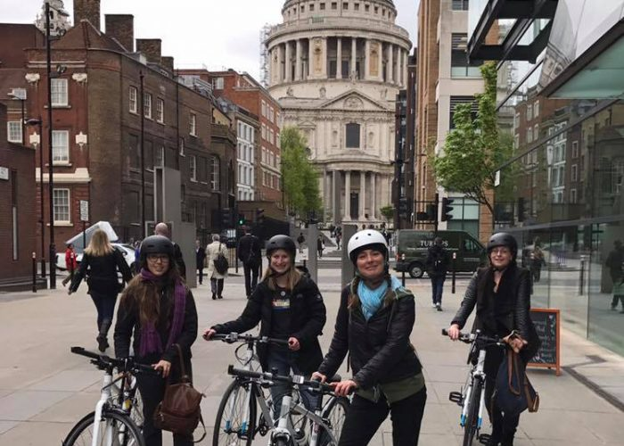 London tourists Bike Tours