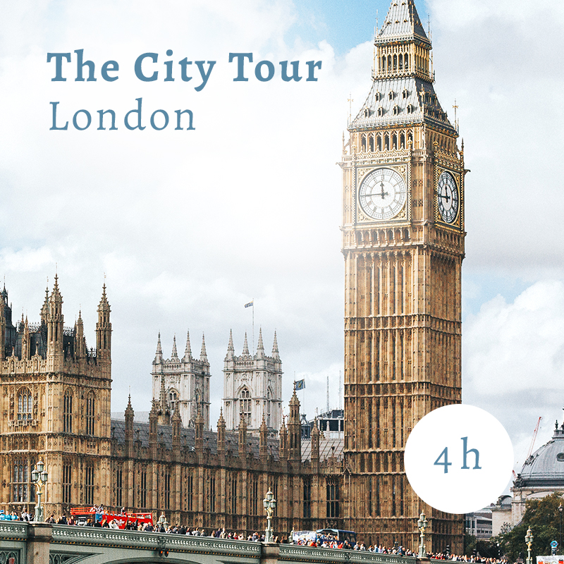 London city tour 4 hours